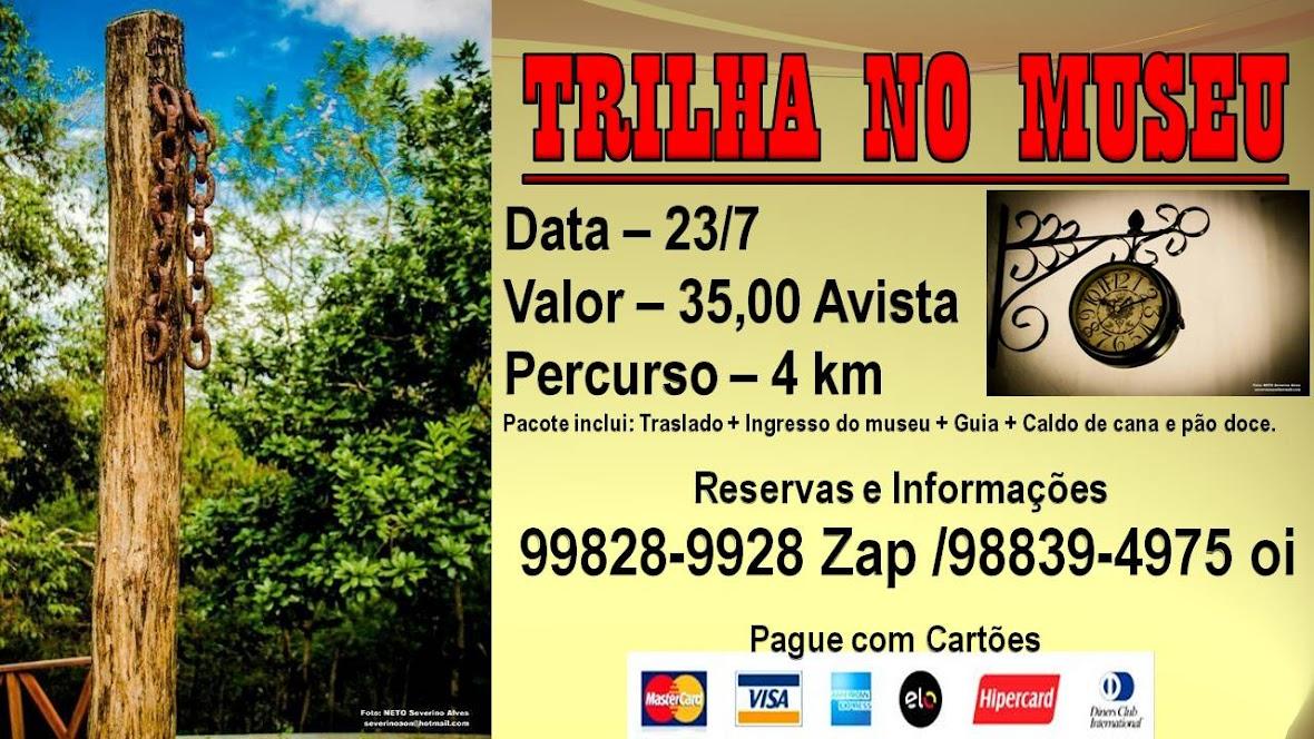TRILHA NO MUSEU EM CEARÁ-MIRIM