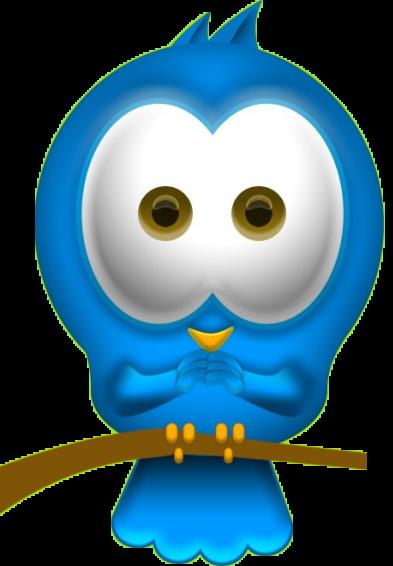 Кнопка Twitter, как разместить на blogger