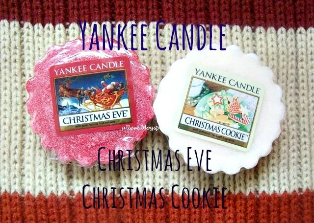 Post niekosmetyczny-woski YC-Christmas Eve&Christmas Cookie