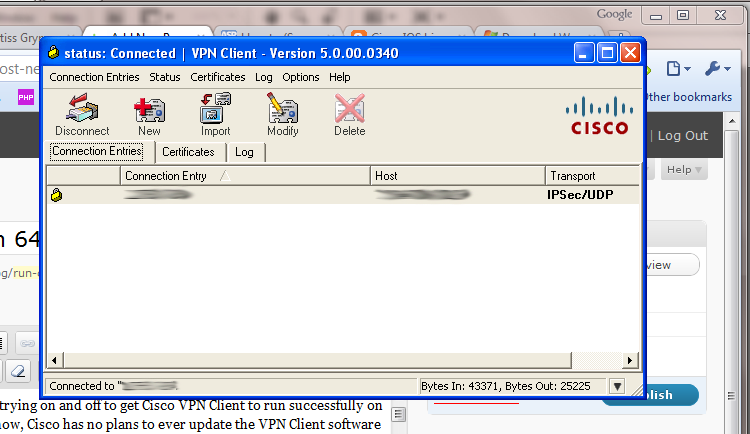 64 bit cisco vpn client