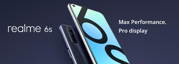 Realme 6S Specs, Display, Thickness, Camera, RAM, Storage & Price