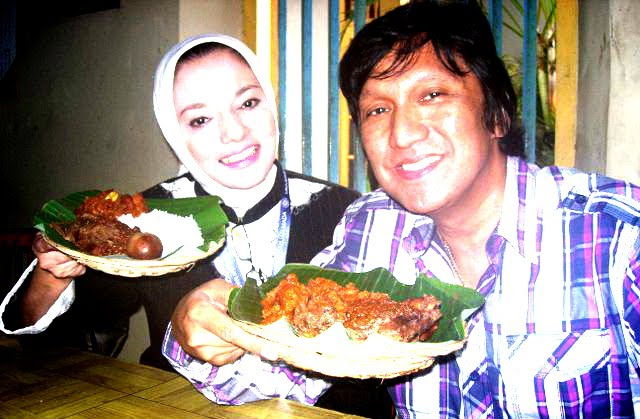 Marissa Haque, Ikang Fawzi, dan Gudeg di Yogyakarta