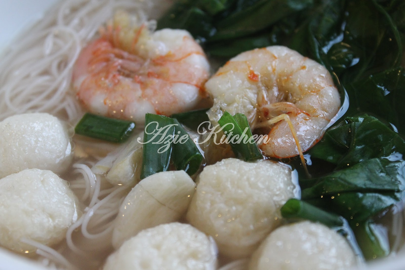 Mee Hoon Sup Ala Chinese Style Azie Kitchen