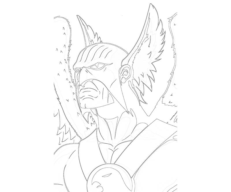 hawkman coloring pages - photo#8