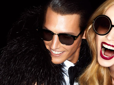 Mirte Maas & Mathias Bergh by Tom Ford for Tom Ford Spring 2012-6