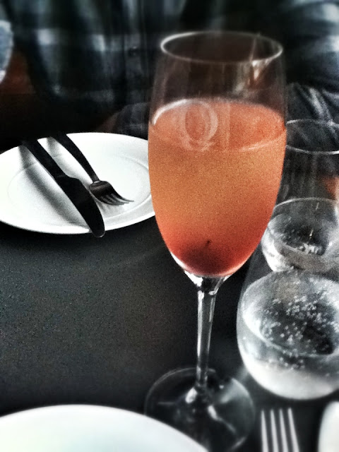 Ox Eatery, Bellini Cocktail