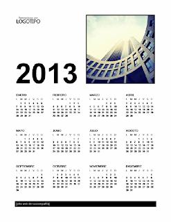 calendario 2013 todos los meses