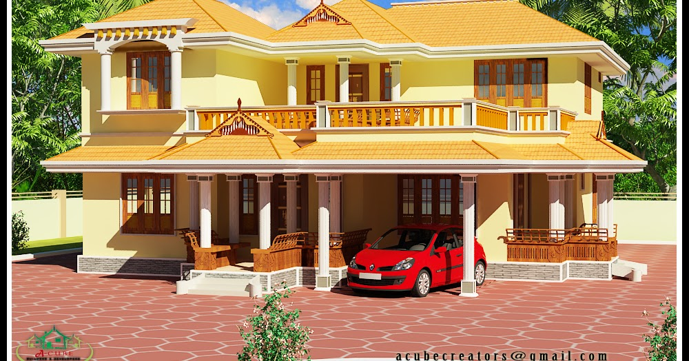 kerala model 2550 sq ft plan 119 acube builders amp developers