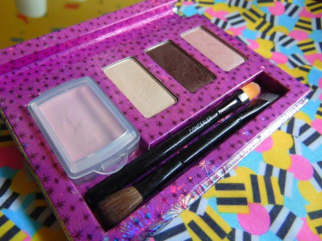 7 days 7 palettes Benefit peek a bright eyes