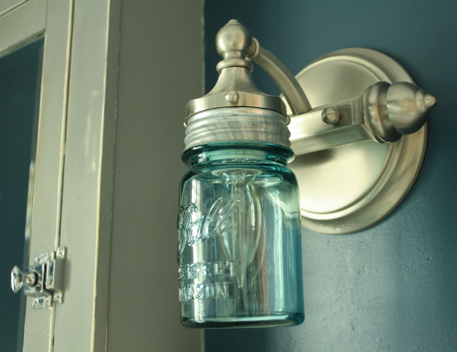 Mason Jar Vanity Lights Diy : Redirecting