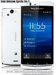 Spesifikasi SOny Ericsson Xperia Arc S
