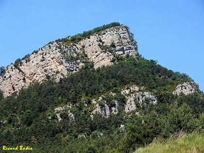 La Roca Tiraval des d'El Quer. Autor: Ricard Badia