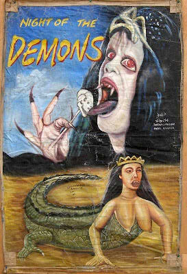 Night of the demons ghana poster