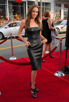 Angelina Jolie on red carpet