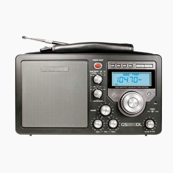 Радиоприемник Grundig NGS350DLB (Grundig S350DL) с превосходным звучанием и высокой чувствительностью