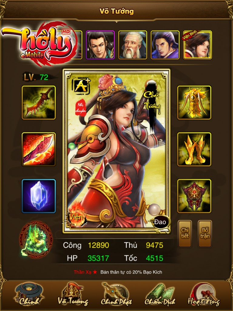 game hồ ly tam quốc