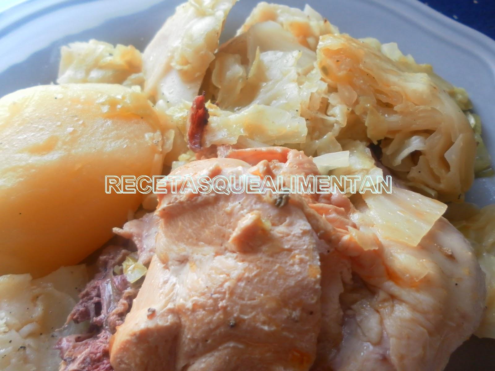 Recetas que alimentan gastronom a salud y consumo - Cocido en la olla express ...