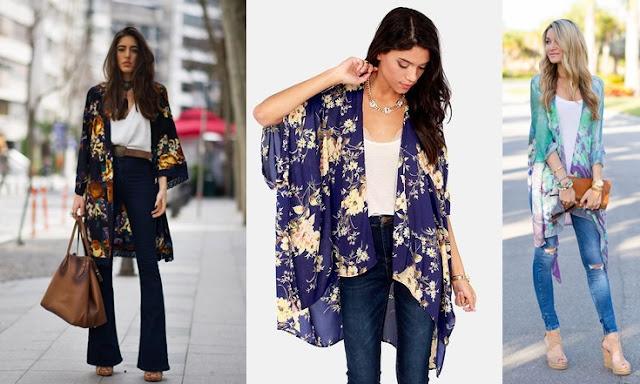 kimono com calça