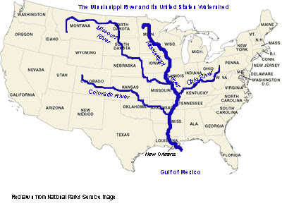 Mississippi State Maps USA Maps Of Mississippi MS Usa Map - Mississippi river on a map of the us