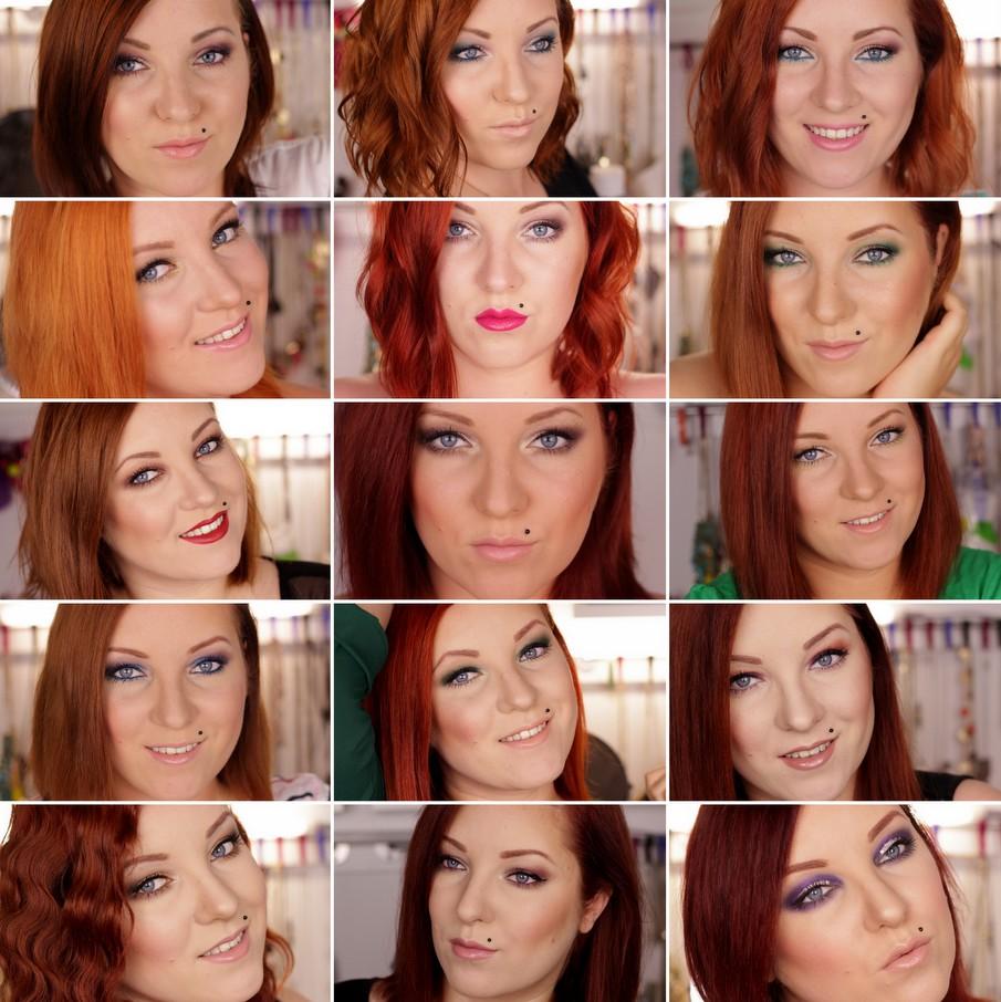 Haare rot farben vorher nachher