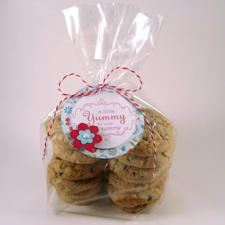 Cookie Bags with Handmade Gift Tag