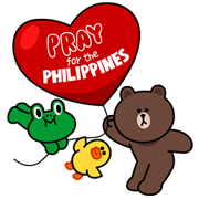$500,000 raises of Line app for the Typhoon Yolanda Victims