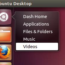Unity Dash Quicklist