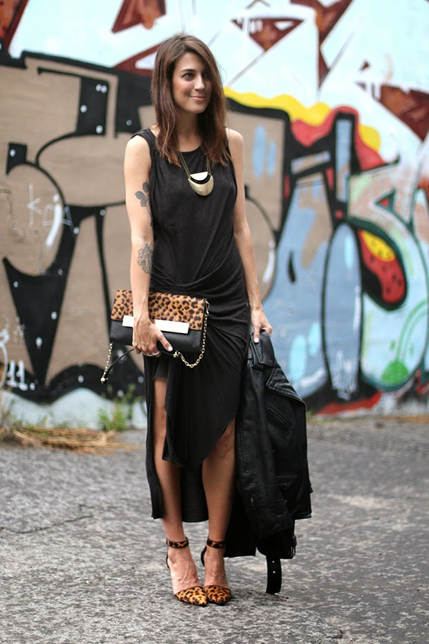 Robe Style Rock Chic