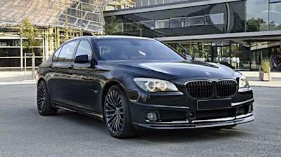 BMW 7 Series by Tuningwerk in black colour