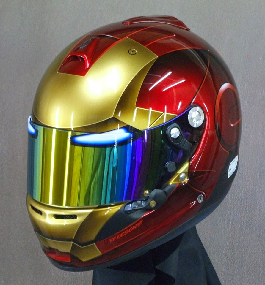Racing helmets garage arai gp 6s ironman 2014 by yf design for Helm design