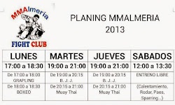 Horarios MMAlmeria Fight Club 2013
