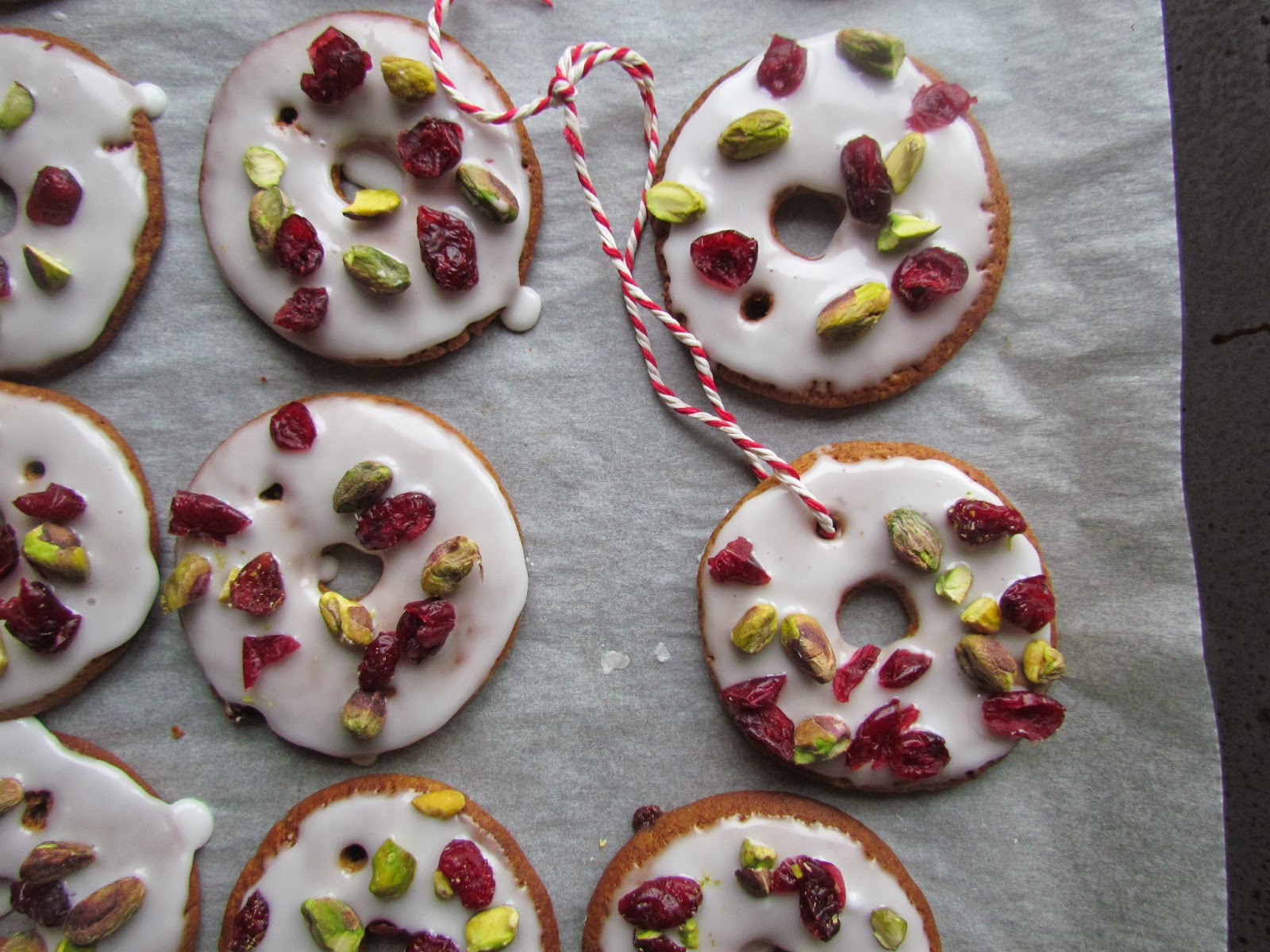 Holly S Pantry Ginger Bread Christmas Wreath Biscuits
