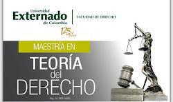 Maestría en Teoría del Derecho - Universidad Externado de Colombia