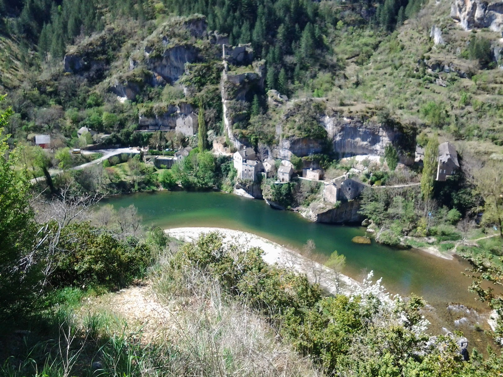 Travelling and working with horses post 32 les gorges du for Camping gorges du tarn piscine