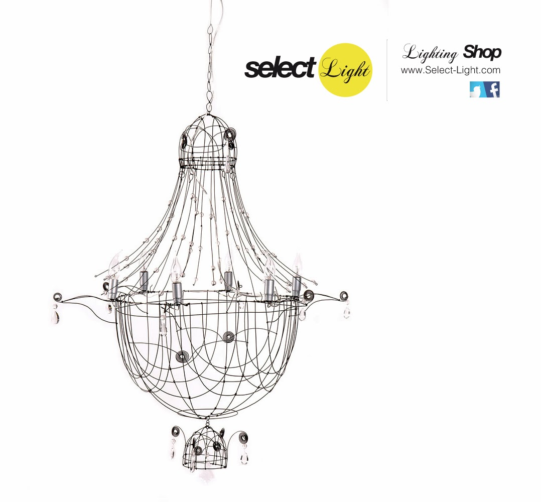 Wirework Lamps By Marie Christophe
