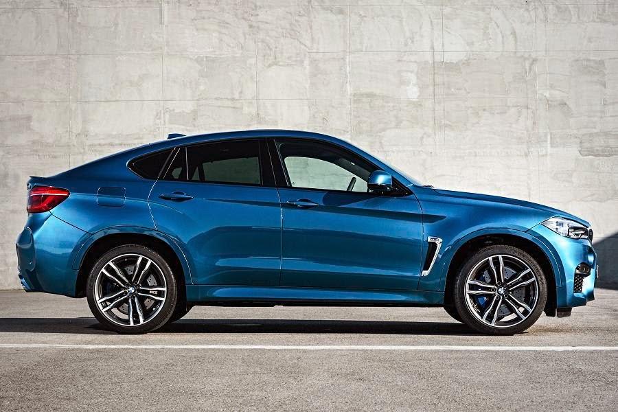 BMW X6 M (2015) Side