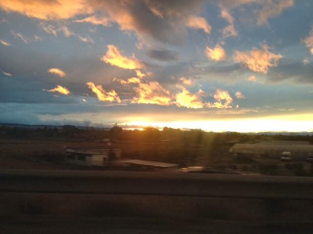 I el Sol es pon arribant a Saragossa...