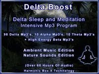 DELTA BOOST SLEEP & MEDITATION MP3 PROGRAM