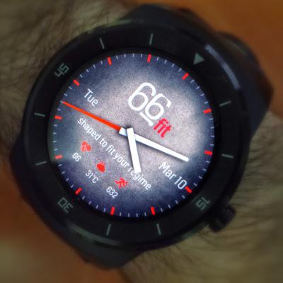 Custom Face on LG G Watch R