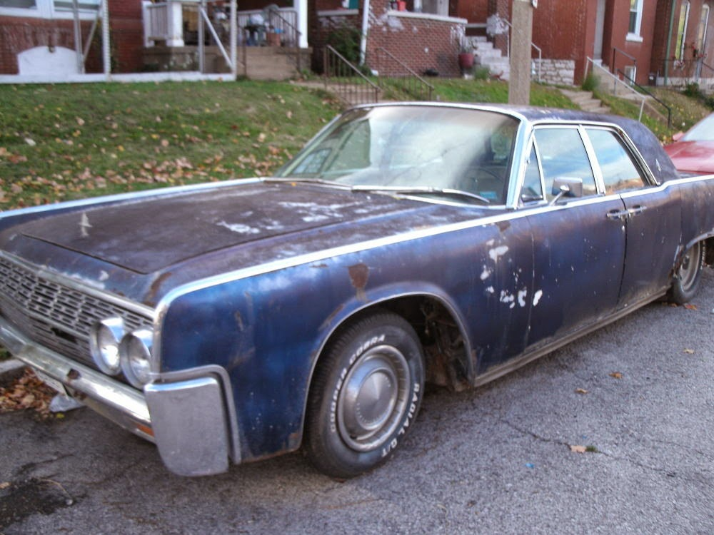 lincoln continental 1964 spare parts 1964 lincoln continental convertible project car parts car. Black Bedroom Furniture Sets. Home Design Ideas