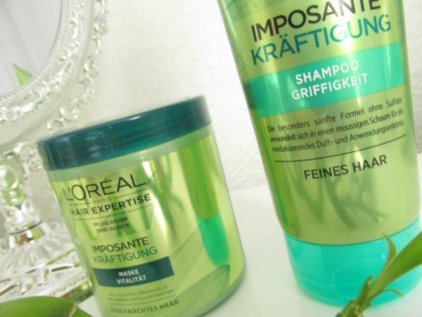 L`Oréal Hair Expertise Imposante Kräftigung sulfatfrei Haarpflege Review
