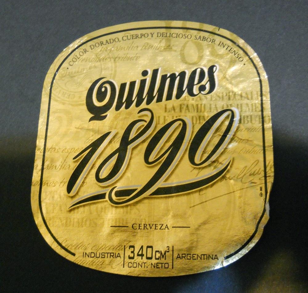 cerveza argentina quilmes 1890