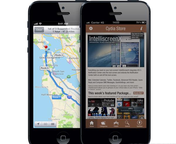 "Jailbreak 6.1.3 iOS 7: iOS 7 Jailbreak Features: Cydia iOS 7 With ""No ..."