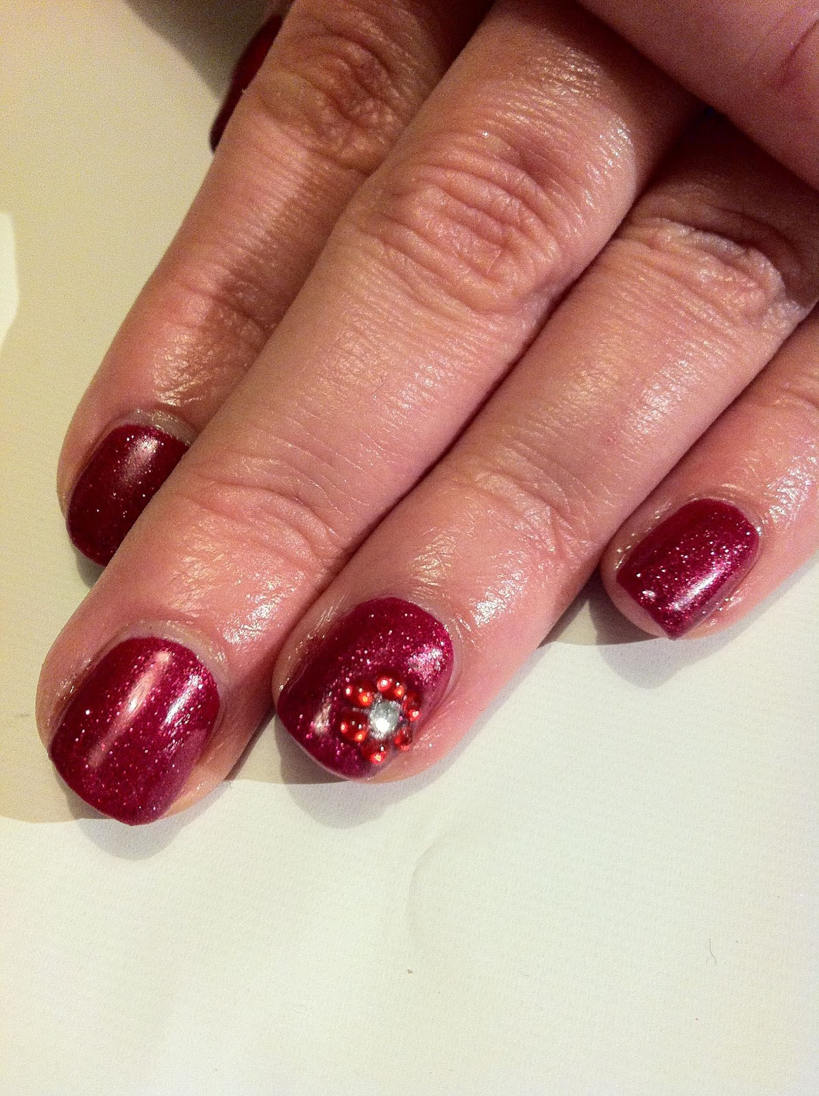 Red Shellac Nail Design: Best ideas about red shellac nails on ...