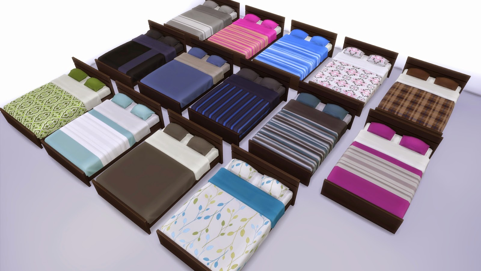 My Sims 4 Blog Mix And Match Bedroom Furniture By Wee Albet