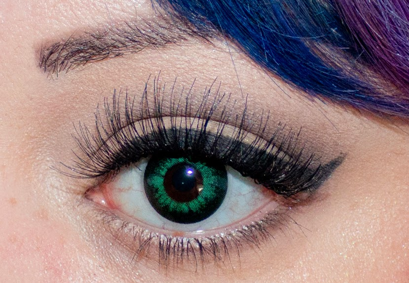 Natural Green Contacts For Dark Brown Eyes