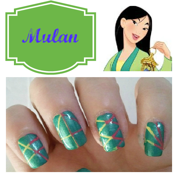 Disney Princess Nail Art: Disney Princess Inspired Makeup And Nail Designs
