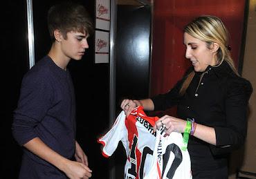 Justin Bieber en River...