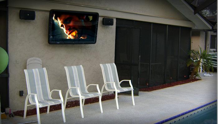 Outdoor TV Enclosure Cabinet