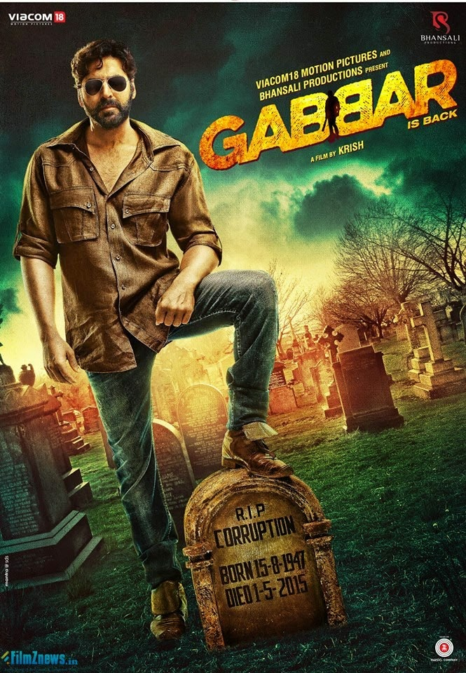 Gabbar Is Back (2015) New Poster 1